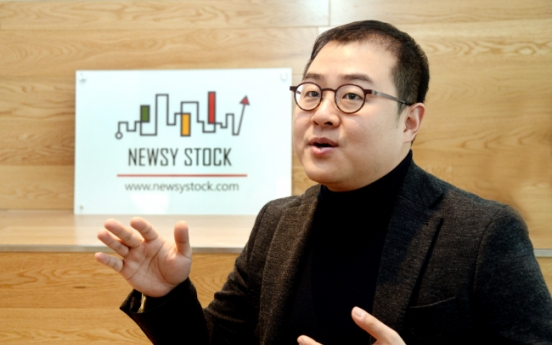 [Herald Interview] Robo adviser quenches thirst of retail investors: Newsystock