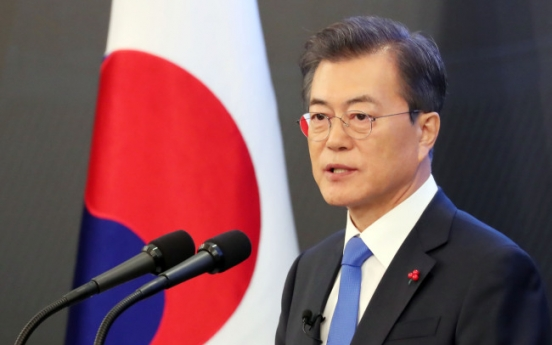 Moon asks to proceed with June referendum on Constitutional amendment