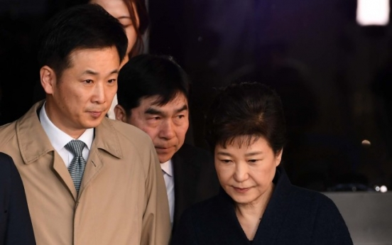 Park's lawyer accused of collaborating in criminal act