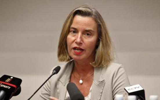 'Iran nuclear deal criticized by Trump working': EU's Mogherini