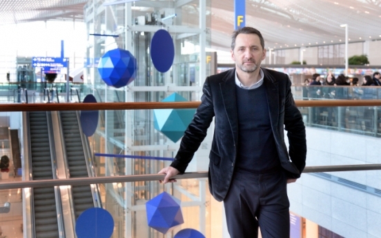 Incheon Airport's new terminal features French artist Xavier Veilhan
