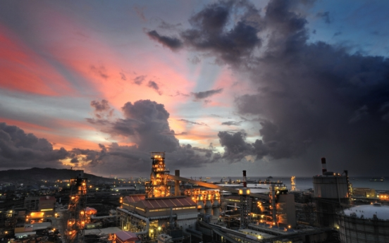 Posco's Indonesia steel mill sees first surplus in four years