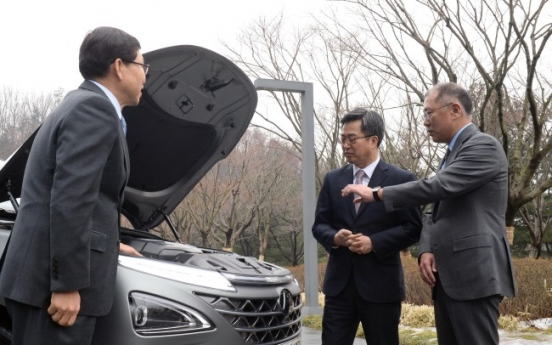 Hyundai Motor vice chairman pledges W23tr investment in new businesses