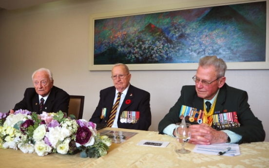[Herald Interview] Canadian veterans reminisce on hockey games in Korean War