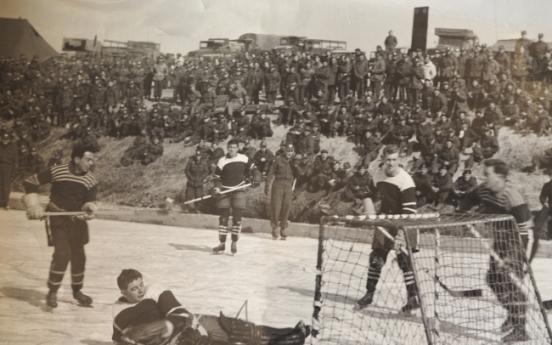 [Herald Interview] Canadian veterans reminisce on hockey games in Korean War