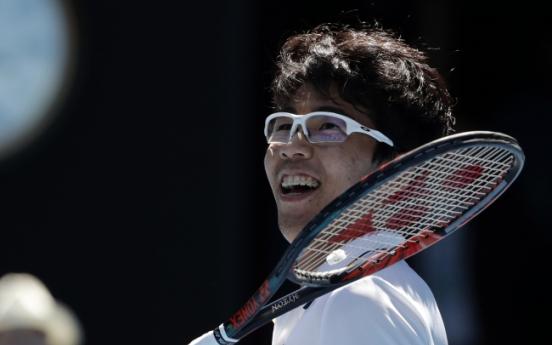 Chung's amazing run continues into Australian Open semis