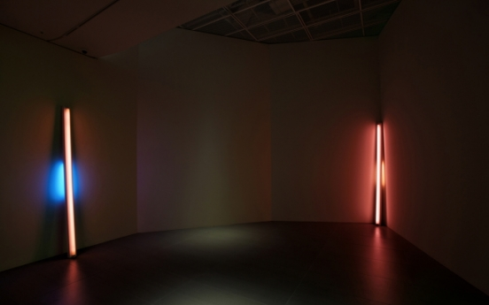 Dan Flavin's exhibition to start at newly opened Lotte Museum of Art