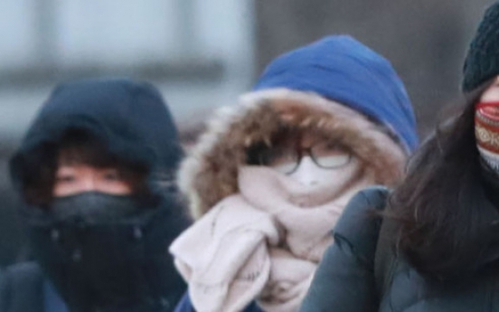 [Weather] Frigid cold weather continues