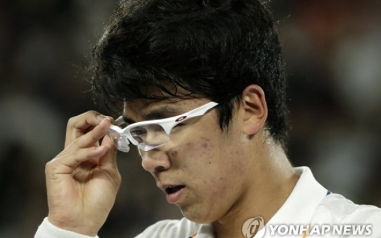 [Newsmaker] S. Korean sensation Chung Hyeon bows to Roger Federer at Australian Open
