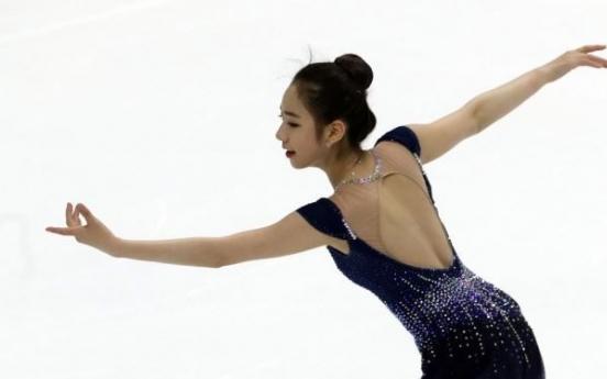 Figure skater Choi Da-bin sets season-best score in Olympic tune-up