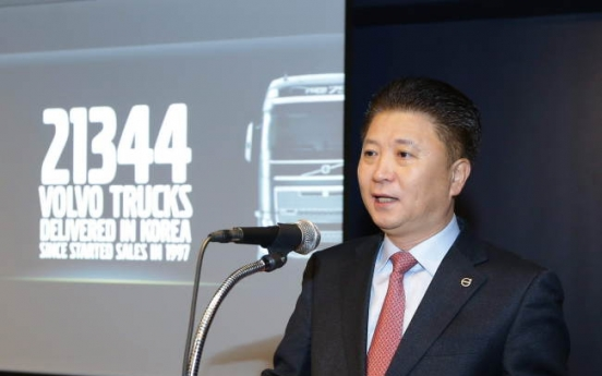 Volvo Trucks Korea seeks to sell over 3,100 units this year