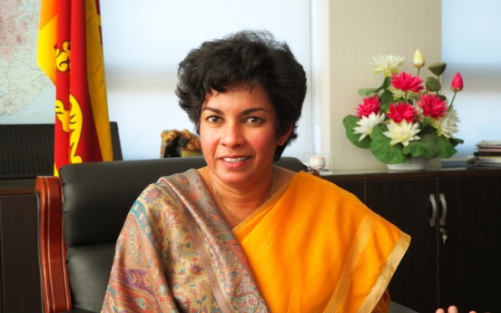 [Herald Interview] 'Sri Lanka sweet spot of Seoul's New Southern Policy'