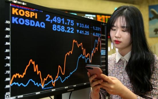 Hawkish Fed, strong dollar jolt Korean markets