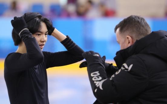 [PyeongChang 2018] Korean figure skater Cha Jun-hwan eyes top 10 at PyeongChang