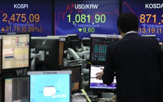 US stock funds feared to exit Korea in case of rate reversal