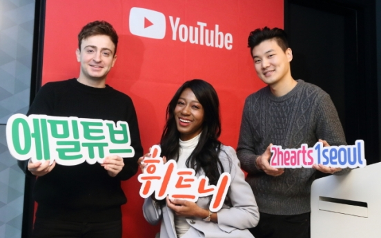 'Koreans want to see foreigners reacting to food on YouTube'