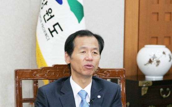 [Herald Interview] Gangwon governor defines 23rd games as 'cease-fire Olympics'