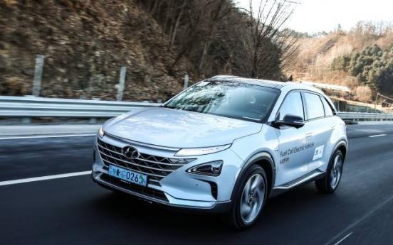 [Behind the Wheel] Hyundai's Nexo, a futuristic eco-friendly car