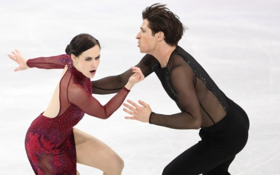 [PyeongChang 2018] 'Determined' Canadian figure skaters clinch Canada's first gold medal