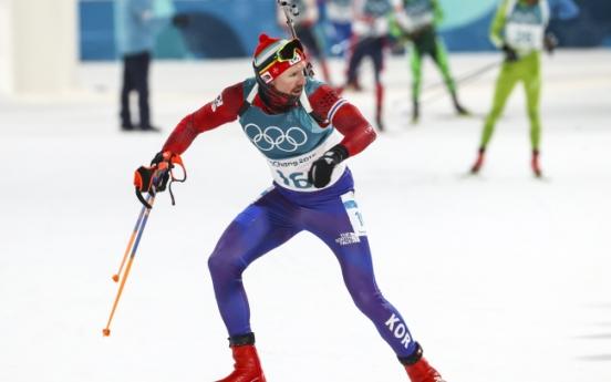 Timofei Lapshin finishes 22nd in men's 12.5km biathlon pursuit