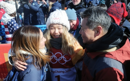 [PyeongChang 2018] Women's halfpipe champion says family drives her run