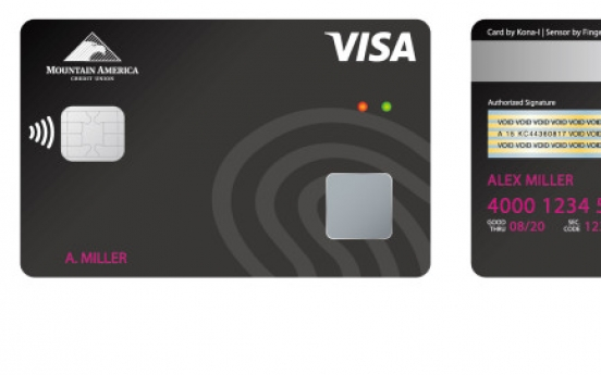 Kona I joins Visa biometric card pilot