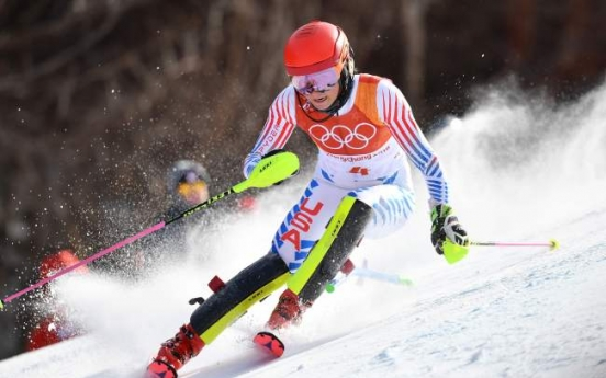 [PyeongChang 2018] Vomiting Shiffrin complains of 'virus' at Olympic slalom