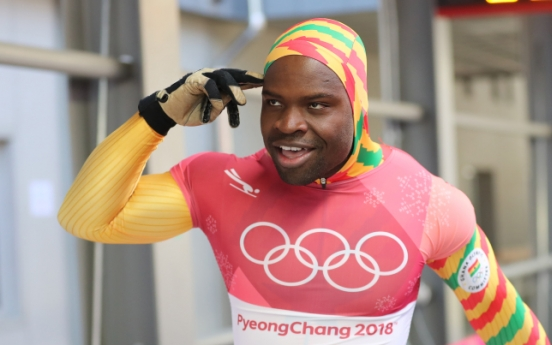 [PyeongChang 2018] Ghana's sole Olympic athlete thanks Korean support in PyeongChang