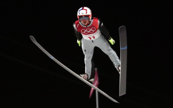 [PyeongChang 2018] S. Korean ski jumper fails to reach large hill final