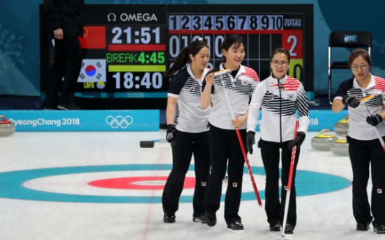 [PyeongChang 2018] S. Korea's female curling team grabs 4th victory