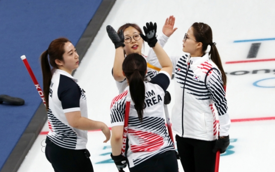 [PyeongChang 2018] 'Garlic girls' on track for first-ever semifinals in curling
