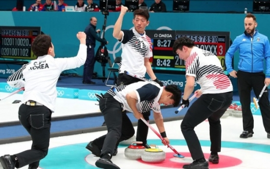 [PyeongChang 2018] Korean male curling team posts rare win against Italy