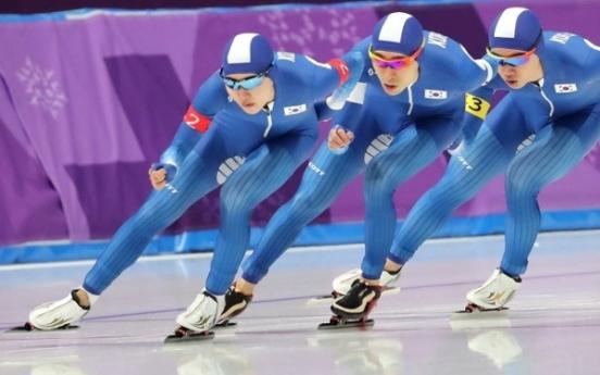 [PyeongChang 2018] Korea eyes 1st gold in men's speed skating team pursuit