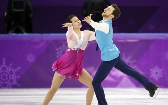 [PyeongChang 2018] Ice dancers dedicate 'Arirang' free dance to new home country
