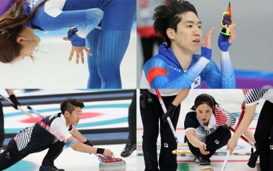 [Photo News] Two silvers, soaring 'garlic girls' at PyeongChang