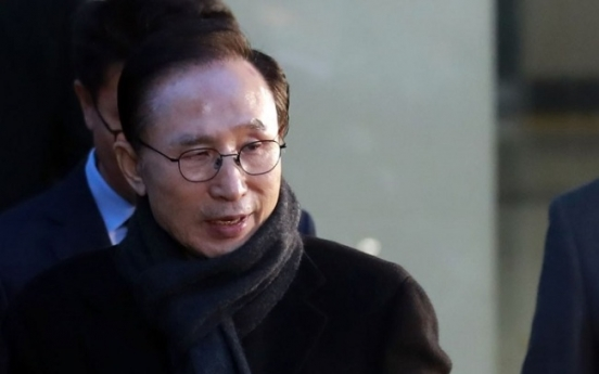 Ex-president Lee's asset manager arrested
