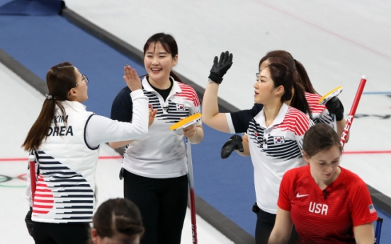 [PyeongChang 2018] Korea snatches ticket for semifinals in women's curling