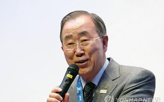 Ex-UN chief Ban Ki-moon elected to lead green growth body