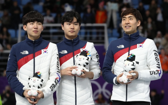 [PyeongChang 2018] Male speed skaters highlight bond amid bullying scandal