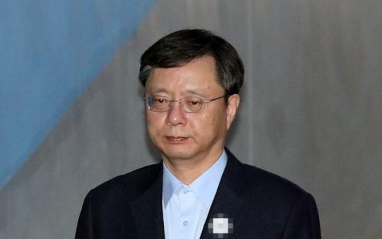 [Newsmaker] Park aide Woo Byung-woo sentenced to 2 1/2 years in prison