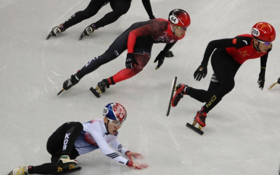 [PyeongChang 2018] S. Korea finishes 4th in men's 5,000m short track relay