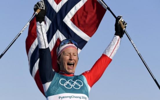 [PyeongChang 2018] Norway's Marit Bjoergen wins final gold of PyeongChang 2018 in cross-country skiing