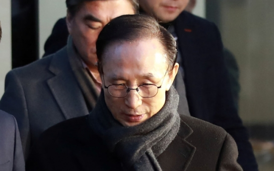 Probe underway on more bribery allegations linked to ex-president Lee
