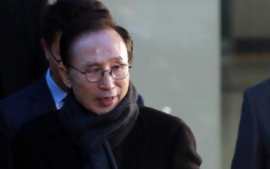 [Newsmaker] Prosecutors likely to summon Lee Myung-bak soon