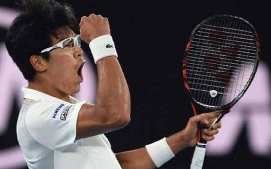Chung Hyeon breaks own record for highest ranking position by Korean tennis player
