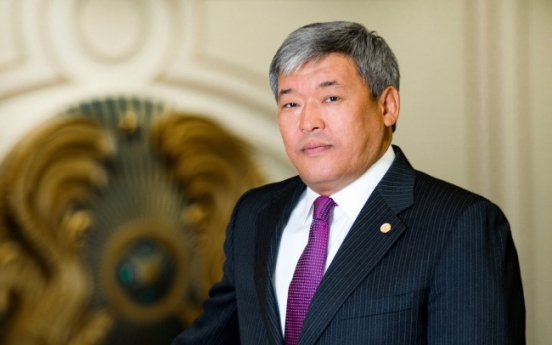 [Herald Interview] 'Kazakhstan seeks Korean expertise in green technologies, investments'