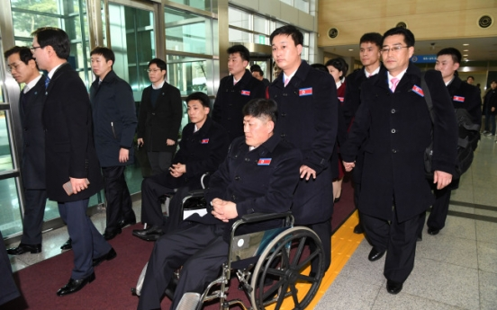 [PyeongChang 2018] N. Korean delegation to Paralympics arrives in S. Korea
