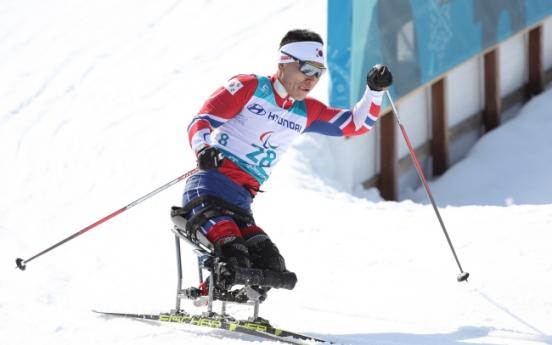 [PyeongChang 2018] Nordic skier Sin Eui-hyun wins Korea's 1st medal at PyeongChang Winter Paralympics