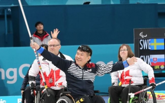 [PyeongChang 2018] Korean wheelchair curlers at Paralympics buoyed by elementary students