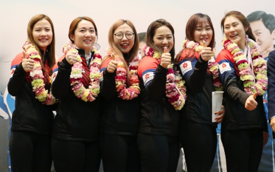 [Photo News] Uiseong residents welcome 'Garlic Girls'
